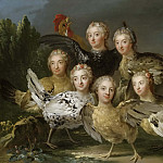 The Hen Picturé [Attributed]