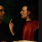 Sebastiano del Piombo - CARDINAL BANDINELLO SAULI, HIS SECRETARY, AND T(2