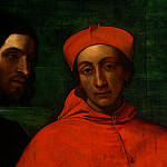 Sebastiano del Piombo - CARDINAL BANDINELLO SAULI, HIS SECRETARY, AND T(1
