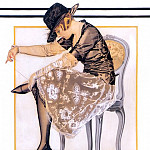 Saturday Evening Post cover 1920, R K Post