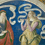 Melozzo da Forli - Prophet Amos and the European Sibyl