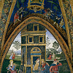 Pinturicchio (Bernardino di Betto) - Saint Barbara Escaping from the Tower