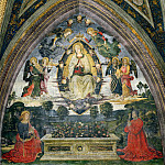 Pinturicchio (Bernardino di Betto) - The Assumption of the Virgin