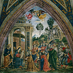 Pinturicchio (Bernardino di Betto) - The Adoration of the Magi