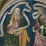 Pinturicchio (Bernardino di Betto) - The Prophet Abdias (Obadiah) and the Libyan Sibyl
