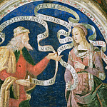 Orazio Samacchini - Prophet Daniel and the Erythraean Sibyl