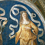 Pinturicchio (Bernardino di Betto) - Prophet and Agrippine Sibyl