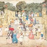 Maurice Prendergast - Prendergast The Mall Central Park