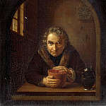 Old man with coal pot