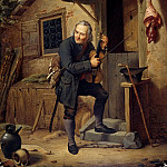 Carl Blechen - The village violinist
