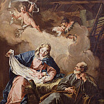 Giovanni Battista Pittoni - The Nativity