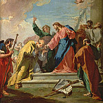 Giovanni Battista Pittoni - The Delivery of the Keys to St. Peter