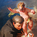 Giovanni Battista Pittoni - The Vision of Saint Anthony of Padua