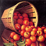 Apples Tumbling From A Basket, Cor Blok