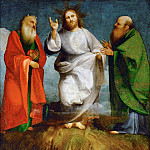 Lorenzo Lotto - The Transfiguration of Christ