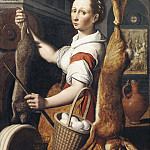 Giovanni Francesco Romanelli - Kitchenmaid [Attributed]