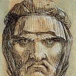 Pierre-Paul Prudhon - Head of Plutus God of Wealth