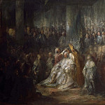 Julius Paulsen - The Coronation of King Gustav III of Sweden. Uncompleted