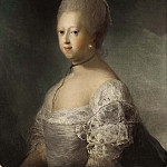 Giovanni Francesco Romanelli - Caroline Mathilde, Queen of Denmark