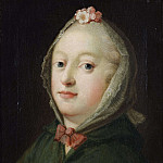 Antoine Pesne - Louise, Queen of Denmark