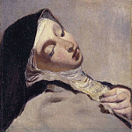 Camille Pissarro - St Teresa in extasy [After]