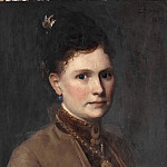 Scarsellino (Ippolito Scarsella) - Maria Agnes Claesson (1843- after 1903), married to the artist Edvard Perséus
