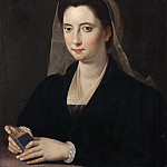 Giovanni Francesco Romanelli - Young Lady, called Lucrezia Cenci [After]