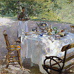Alexander Roslin - Breakfast-Time