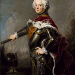 Lorens Pasch the Younger - Frederick II (1712-1786), king of Prussia