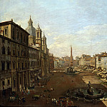 Giovanni Paolo Panini - View of Piazza Navona