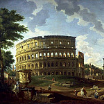 View of the Colosseum, Giovanni Paolo Panini