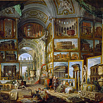The Gallery of views of ancient Rome, Giovanni Paolo Panini