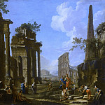 Giovanni Paolo Panini - Caprice architectural antique