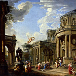 Giovanni Paolo Panini - Hermes Appears to Calypso