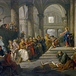 Dispute of Jesus with the doctors, Giovanni Paolo Panini