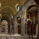 Giovanni Paolo Panini - Interior of Saint Peter s, Rome