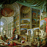 Gallery of Views of Ancient Rome, 1758, Giovanni Paolo Panini