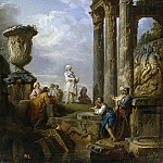 Preaching of a Sibyl, Giovanni Paolo Panini