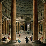 Giovanni Paolo Panini - Interior of the Pantheon, Rome