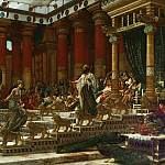 Edward John Poynter - The Visit of the Queen of Sheba to King Solomon
