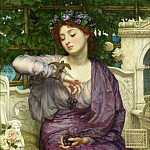 Lesbia and her Sparrow, Edward John Poynter