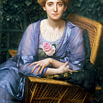 Edward John Poynter - Portrait of Lady Markham
