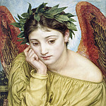 Erato Muse of Poetry, Edward John Poynter