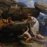 Edward John Poynter - Wonders of the Deep