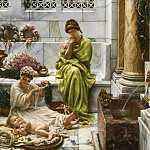 Edward John Poynter - A Corner of the Marketplace