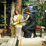 Edward John Poynter - Helena and Hermia