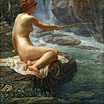 Edward John Poynter - THE NYMPH OF THE STREAM