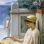 On the Terrace, Edward John Poynter