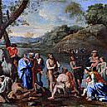 Saint John baptising the people, Nicolas Poussin
