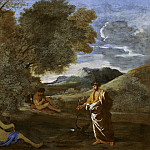 Nicolas Poussin - Numa Pompilius and the nymph Egeria